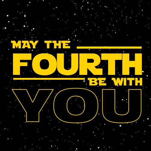 Image for the Tweet beginning: Happy Star Wars Day. 👍