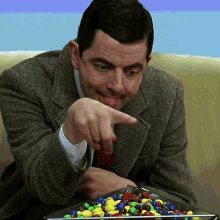 Mr Bean Rowan Atkinson GIF