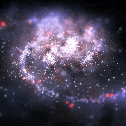 Loop Space GIF by xponentialdesign