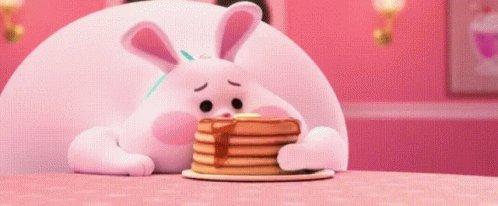Bunny Pancakes GIF
