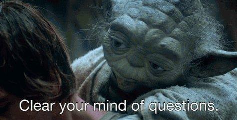 Luke Skywalker Meditation GIF by Star Wars