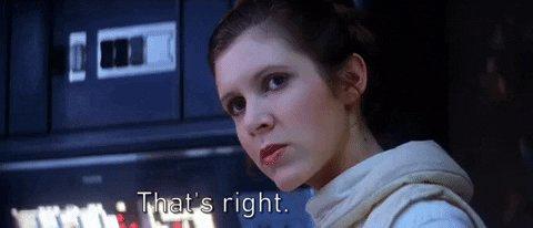Princess Leia GIF by Star Wars