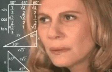 Confused Math GIF
