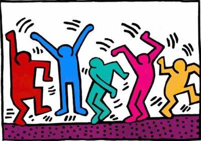 Happy birthday anniversary to artist Keith Haring!