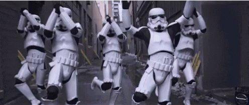 Star Wars Storm Troopers GIF