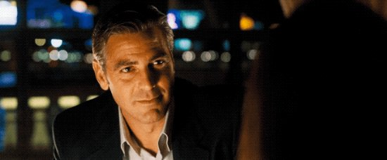 George Clooney is 60 today. You are not old because he is not old.  Happy Birthday and thank you, George.
