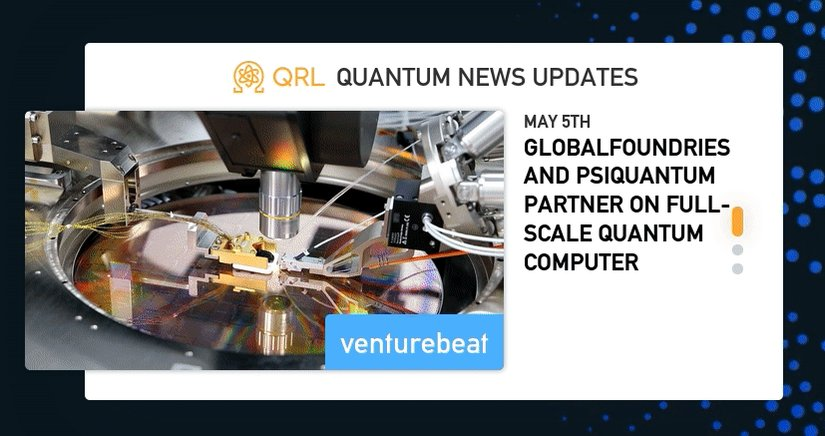 Image for the Tweet beginning: This week in Quantum News