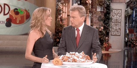 Hungry Vanna White GIF by W...