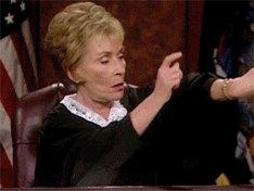 Running Late Judge Judy GIF