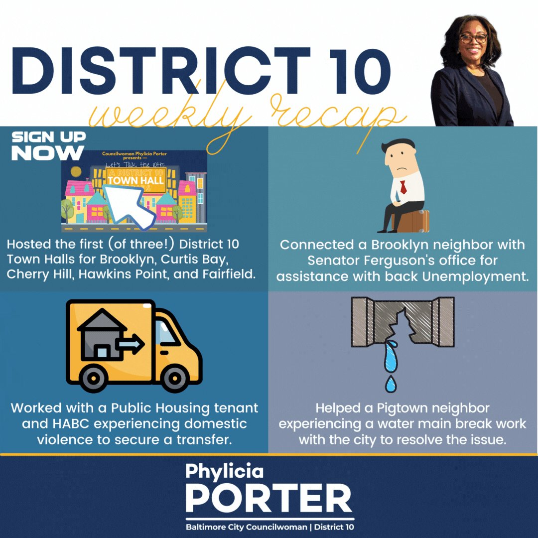 Image for the Tweet beginning: We made it, #District10 Neighbors
