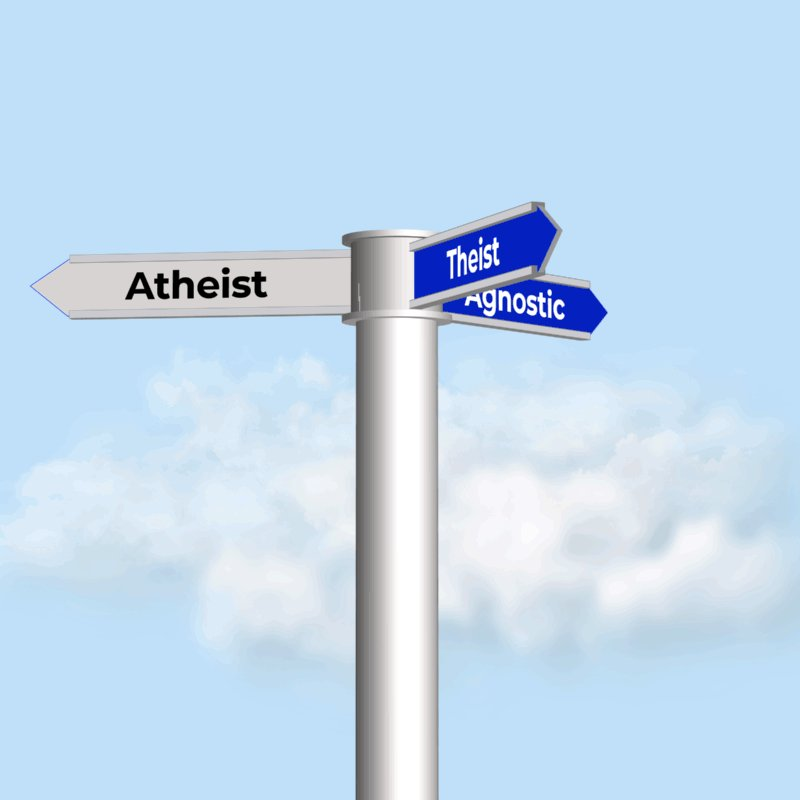 Image for the Tweet beginning: Being an Agnostic stinks!