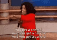 Candle Day Oprah GIF