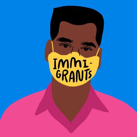 Image for the Tweet beginning: 5 million undocumented #ImmigrantsAreEssential workers.  5