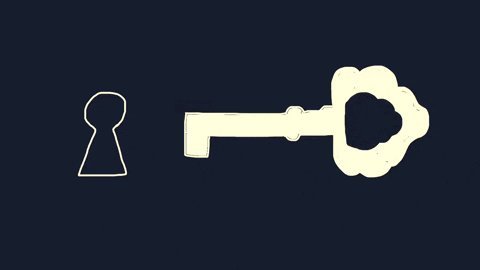 The Key Good Luck GIF by Ba...
