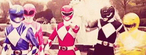 Power Rangers Hands In GIF