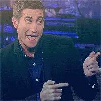 Jake Gyllenhaal Finger Guns GIF