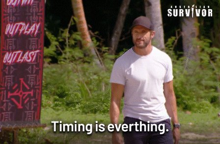 Timing Is Everything GIF by...