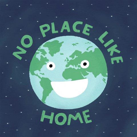 Planet Earth Home GIF