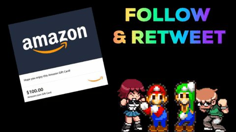 RT @videogamedeals: Follow CAG & Retweet for a Chance to Win a $100 Amazon Gift Card. Ends Monday at 9PM ET. https://t.co/DQiuEOsuVx