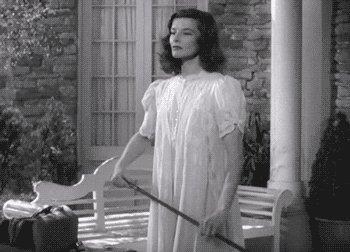 Angry Katharine Hepburn GIF