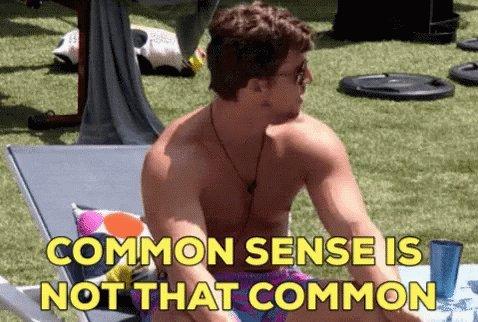 Bbbrett Common Sense GIF