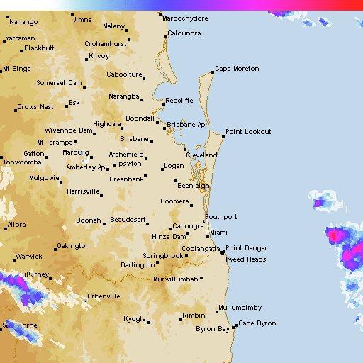 Brisbane CBD: Light rain in 26 minutes, increasing to very heavy rain after 38 minutes #brisbane https://t.co/7faR5dru9F https://t.co/cT9IVJ0aWX
