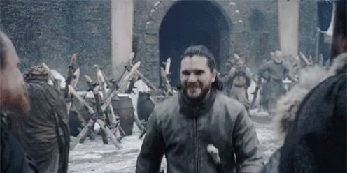 Just finished a rewatch of thrones…   Still waiting on a Tormund and Jon buddy cop of the north spin-off show. That's really all I've ever wanted. With how silly the show ended it's all we deserve. https://t.co/p8Xf0kYOdA