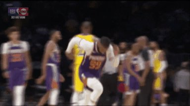 lakers leaving the playoffs like... https://t.co/lrd8s0VdGT