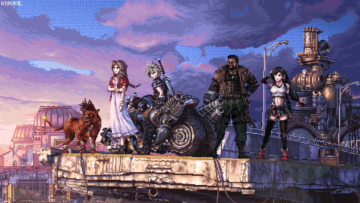Final Fantasy VII  By きすけ