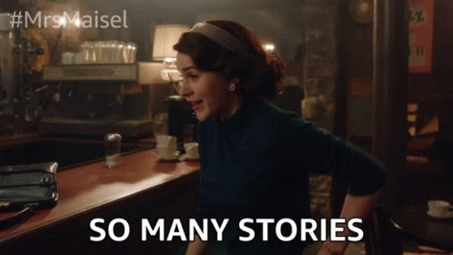 So Many Stories Story GIF