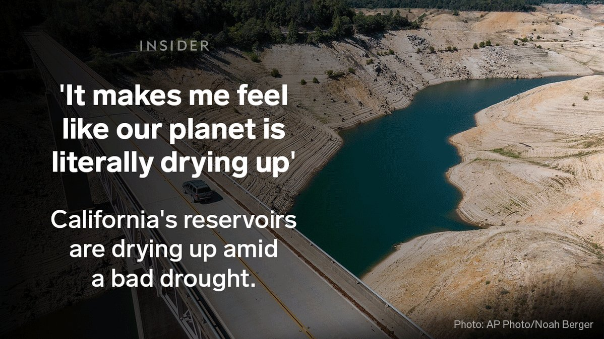 Gif shows series of images depicting drought-stricken land i