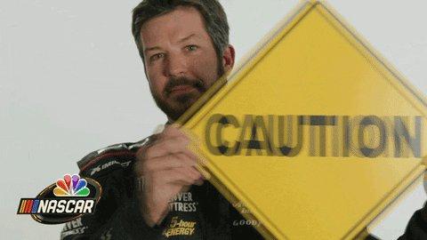 Be Safe Martin Truex Jr GIF by NASCAR on NBC