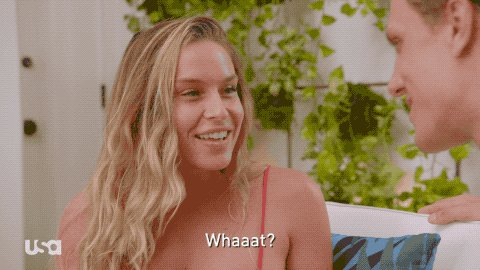 Usa Network What GIF by Temptation Island