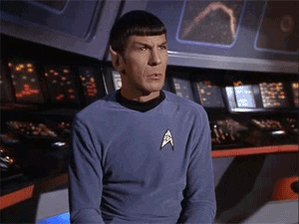 Leonard Nimoy Reaction GIF