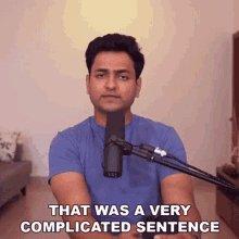 That Was AVery Complicated Sentence Kenny Sebastian GIF