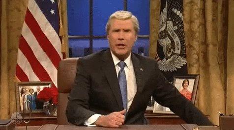 will ferrell snl GIF by Saturday Night Live