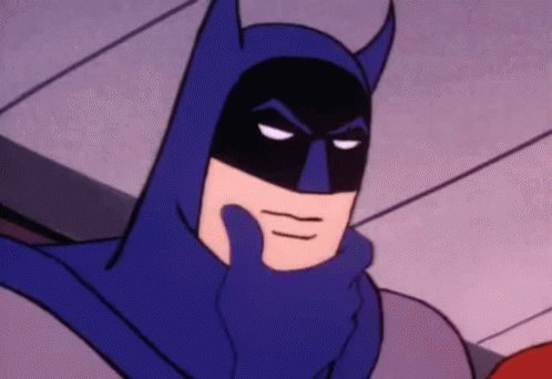 Batman Thinking GIF