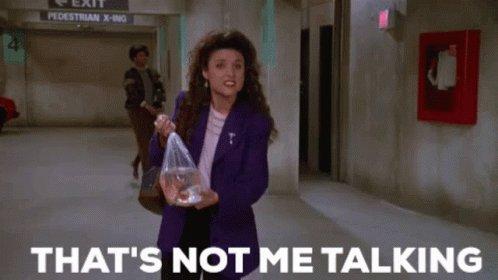 Seinfeld Elaine GIF