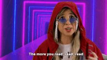 The More You Read The Smarter You Will Get Carina Fragozo GI