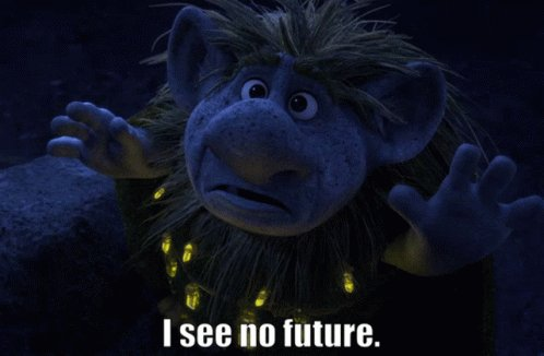 ISee No Future Troll GIF