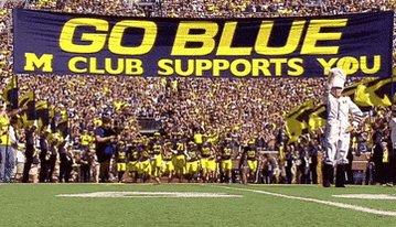 Go Blue Ncaa Football GIF by ESPN College Football