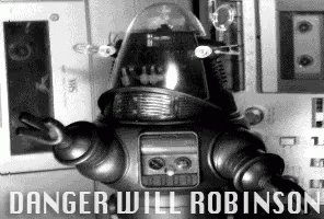 Danger Will Robinson Lost In Space GIF
