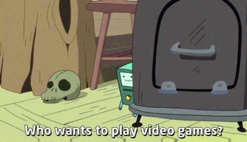 Who Wants To Play Video Games? GIF