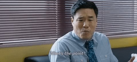 randall park whats the point GIF by The Orchard Films