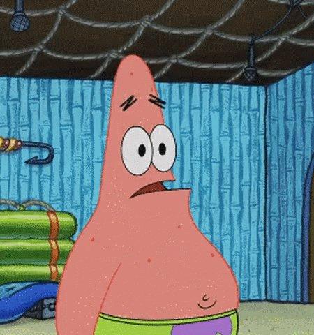 Patrick Star Spongebob Squarepants GIF