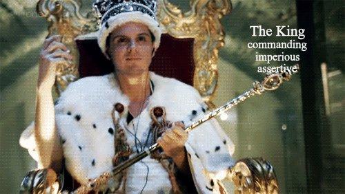 the king GIF