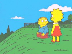 The Simpsons Reaction GIF