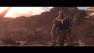 Thanos Mad Titan GIF