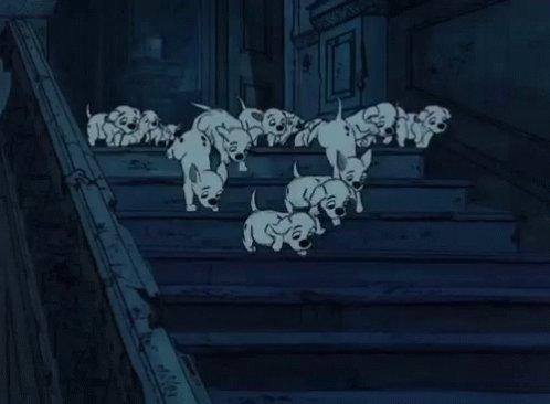 101Dalmatians Puppy GIF