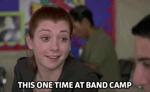 This One Time At Band Camp GIF